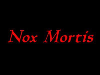 Nox Mortis
