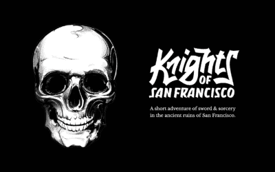 Knights of San Francisco: Exciting New Text-Driven RPG Launching Today on iOS and Android